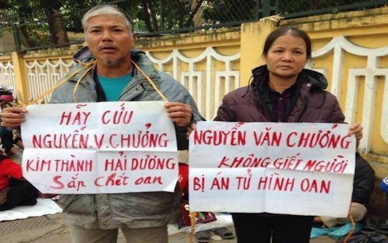 Bố mẹ Nguyễn Văn Chưởng kêu oan cho con