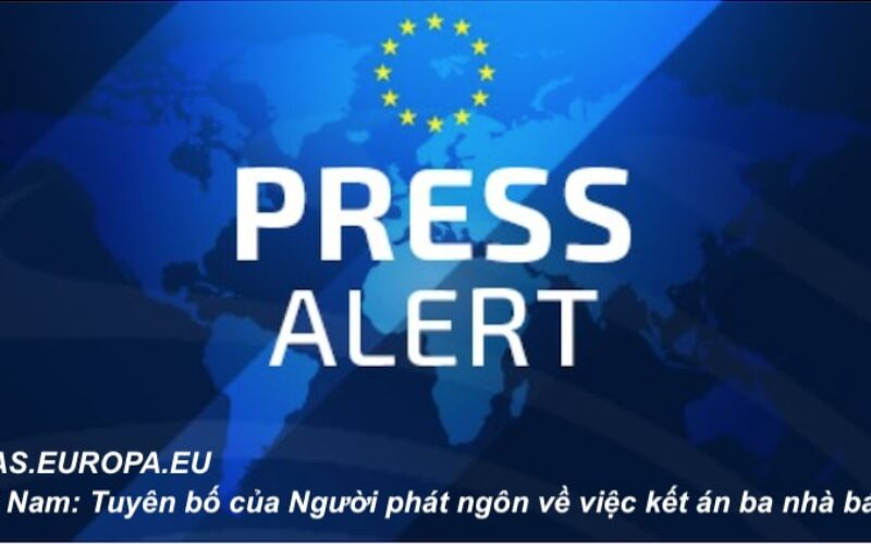Vietnam: Statement by the Spokesperson on the sentencing of three journalists